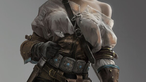 Vinci R Video Game Girls Video Game Characters White Hair Blonde Women The Witcher 3 The Witcher 3 W 1920x2715 Wallpaper