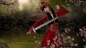 Fantasy Women Warrior 2400x1430 Wallpaper