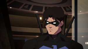 Nightwing Dick Grayson Black Hair Young Justice Tv Show 1920x1080 wallpaper