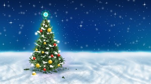 Christmas Tree 1920x1080 Wallpaper