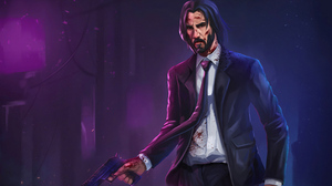 John Wick Keanu Reeves 3840x2160 Wallpaper