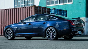 Blue Car Car Full Size Car Jaguar Xj50 Luxury Car Sedan 1920x1080 Wallpaper