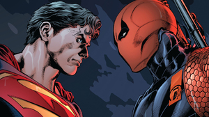 Clark Kent Dc Comics Deathstroke Slade Wilson Superman 1920x1080 Wallpaper