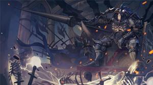 Armor Lance Warrior 1920x1080 wallpaper