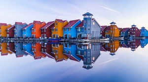 Reflection House Building 2250x1500 wallpaper