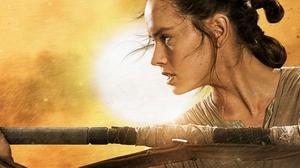 Daisy Ridley Rey Star Wars Star Wars Star Wars Episode Vii The Force Awakens 3581x1246 Wallpaper