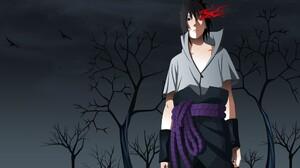Anime Boys Naruto Anime Uchiha Sasuke Sharingan 2560x1600 Wallpaper