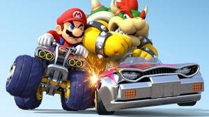 Video Game Mario Kart 8 3977x2651 Wallpaper