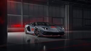 Car Lamborghini Lamborghini Aventador Silver Car Sport Car Supercar Vehicle 7952x5304 Wallpaper