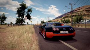Bugatti Veyron Car Forza Horizon 3 Racing Road Supercar 1920x1080 Wallpaper