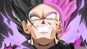 Black Dragon Ball Super Saiyan Rose 2560x1600 wallpaper