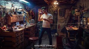 Andrew Garfield Peter Parker The Amazing Spider Man 2 1920x1080 Wallpaper