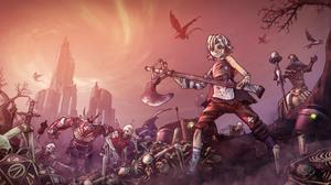 Borderlands 2 Video Games Tiny Tina 3840x2160 wallpaper