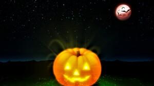 Jack O 039 Lantern Glow Bat 2560x1600 wallpaper