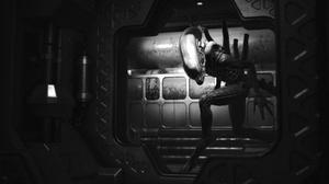 Monochrome Aliens Xenomorph Creature Science Fiction Horror Alien Movie 2560x1440 Wallpaper