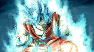 Dragon Ball Dragon Ball Super Goku Super Saiyan Blue 1997x1287 wallpaper