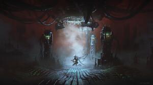Cristian Alberto Vasquez Artwork ArtStation Science Fiction 1920x1080 Wallpaper