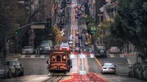 Road San Francisco Traffic 4206x2366 Wallpaper