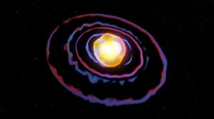 Abstract 3D Abstract Space Gas Giant Stars 3D Graphics Blender Digital Art 1920x1080 Wallpaper