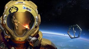 Hardspace Shipbreaker Artwork Video Games Space Astronaut 3840x2160 Wallpaper
