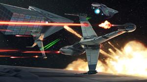 Star Wars Darren Tan Science Fiction Artwork B Wing Star Wars Ships Vehicle 1800x900 wallpaper
