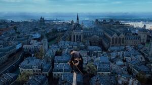 Assassins Creed Unity Video Games Screen Shot 2560x1080 Wallpaper