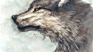 Game Of Thrones Warrior Wolf 1600x1684 Wallpaper