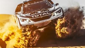 Car Rallying Sand 3500x2333 Wallpaper