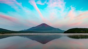 Japan Lake Landscape Mount Fuji Nature Reflection Sky 2048x1363 Wallpaper