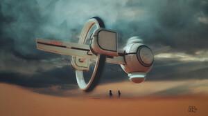 Sci Fi Spaceship 2732x1537 wallpaper