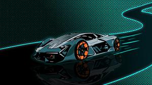 Lamborghini Lamborghini Terzo Millennio Car Electric Car Hypercar 3000x1646 Wallpaper