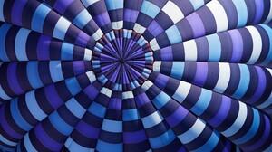 Blue Colorful Hot Air Balloon Purple White 2560x1440 Wallpaper