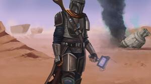 The Mandalorian Star Wars The Mandalorian Character 1920x1480 Wallpaper
