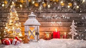 Christmas Lights Christmas Ornaments Christmas Tree Happy New Year New Year 2020 2560x1706 Wallpaper