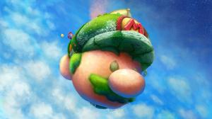 Mario Princess Peach 2544x1548 Wallpaper