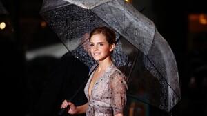 Women Emma Watson Actress Women With Umbrella 1920x1080 Wallpaper