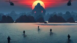 Ape Gorilla King Kong Kong Skull Island 3840x2400 Wallpaper