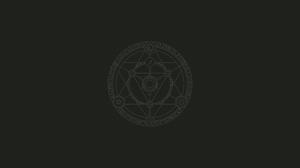 Symbols Vector Simple Simple Background Minimalism Spiritual Knowledge Brown Digital 4146x2374 Wallpaper