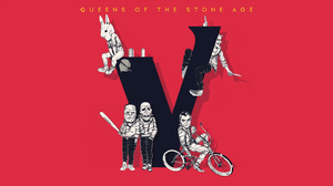 Queens Of The Stone Age Villains Simple Background Artwork Baseball Bat 1920x1080 Wallpaper