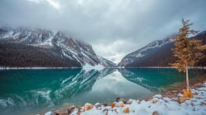 Lake Louise Winter 7952x5304 wallpaper