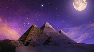 Camel Egypt Pyramid 3000x2501 Wallpaper