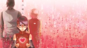 Naruto Sakura Haruno Sarada Uchiha Sasuke Uchiha 4425x2962 Wallpaper