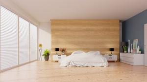 Bed Bedroom Furniture Room 4096x2248 Wallpaper