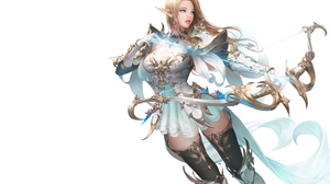 Daeho Cha Fantasy Art White Background Illustration 2560x1600 wallpaper