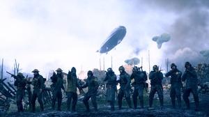 Battlefield 1 Soldier World War I Zeppelin 5120x2880 Wallpaper