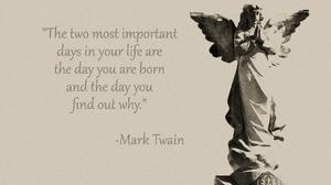 Angel Angel Statue Mark Twain Quote Statue 1924x1274 Wallpaper