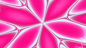 Abstract Artistic Digital Art Kaleidoscope Pink 1920x1080 Wallpaper