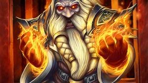 Beard Dwarf Magic World Of Warcraft 3000x2583 Wallpaper