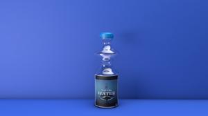3d Cgi Digital Art Glass Water 1920x1080 wallpaper