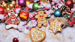 Christmas Christmas Ornaments Cookie Gingerbread 3057x2034 Wallpaper